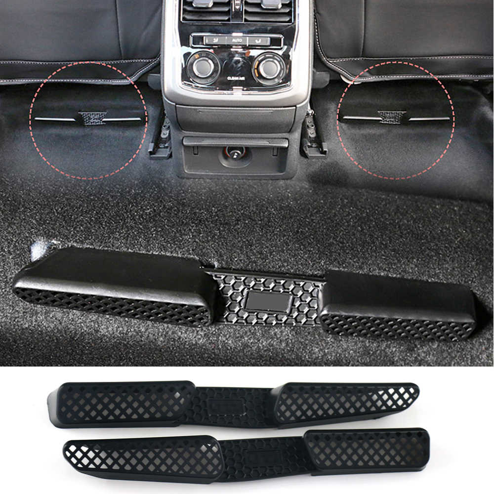 For Volkswagen Passat NMS 2012-2018 US Model Only Car Seat Floor Heater Air  Conditioner Duct Vent Cover Outlet Grille Protective