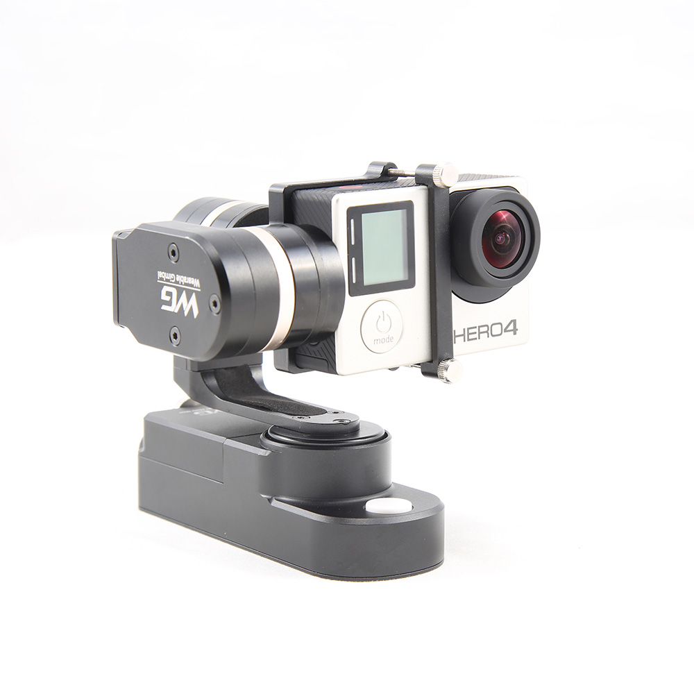 цена на Feiyu Tech FY-WG 3-axis Wearable Camera Brushless Gimbal Stabilizer for Gopro Hero 3 3+ 4 LCD Touch BacPac