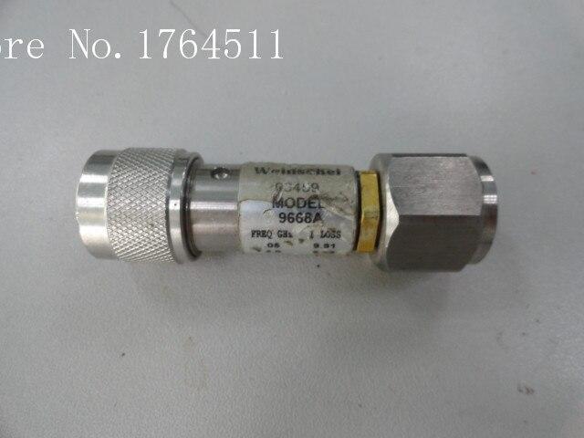 [BELLA] Weinschel 9668A DC-18GHZ 10dB N-APC-7 Coaxial Fixed Attenuator