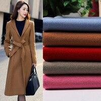 PanlongHome 1M Double Sides Cashmere Coat Fabric Women's Fabric