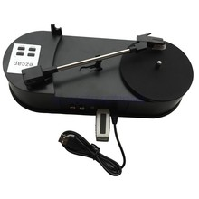 2017 new turntable player convert vinyls to mp3 file easy to connection with USB disk or Micro SD Card Free shipping