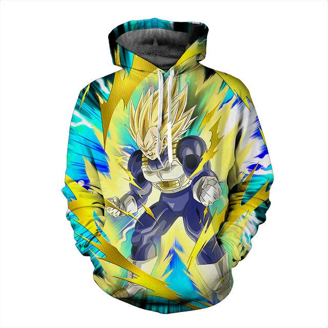 Dragon Ball Z 3D Hoodies Pullovers Sportswear