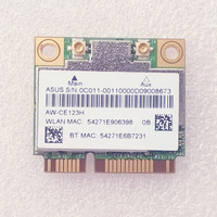 0C011-00110000สำหรับAsus G75VX Dual B And Wireless-ACและBT 4.0ครึ่งความสูงมินิ-PCI Express Wi-FiบัตรBCM94352