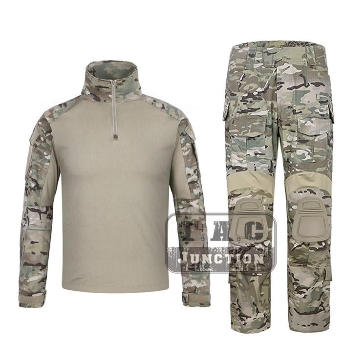 EmersonGear G3 BDU Combat Shirt & Pants Camouflage Multicam Tops & Trousers Emerson Tactical Military Hunting GEN3 Uniform Set emerson bdu g3 combat uniform shirt
