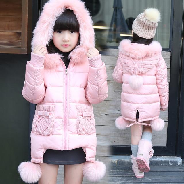Aliexpress.com : Buy Girls Winter Coats 2016 New Style Girl Padded ...