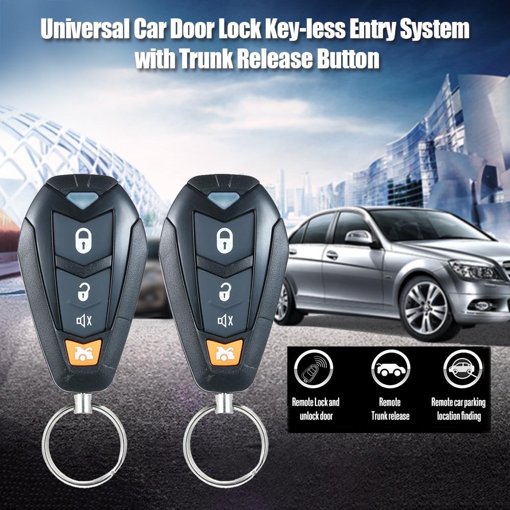 Universal Car Auto Central Locking Keyless Entry Actuator Motor Audi Remote Key
