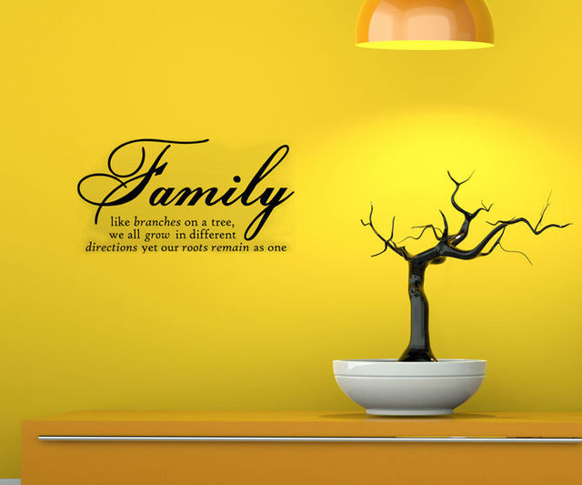Family Branches On A Tree DIY Removable Wall Decal Sticker ...