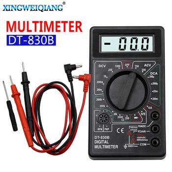 Miernik cyfrowy multimetr prądu lcd AC DC 750 1000V cyfrowy mini multimetr sonda do woltomierza amperomierz Ohm miernik testowy tanie i dobre opinie XINGWEIQIANG Elektryczne QIAN-K015 200-750V Manual Cyfrowy wyświetlacz 200u-2000u-20m-200m-10A 200m-2000m-20-200-1000V