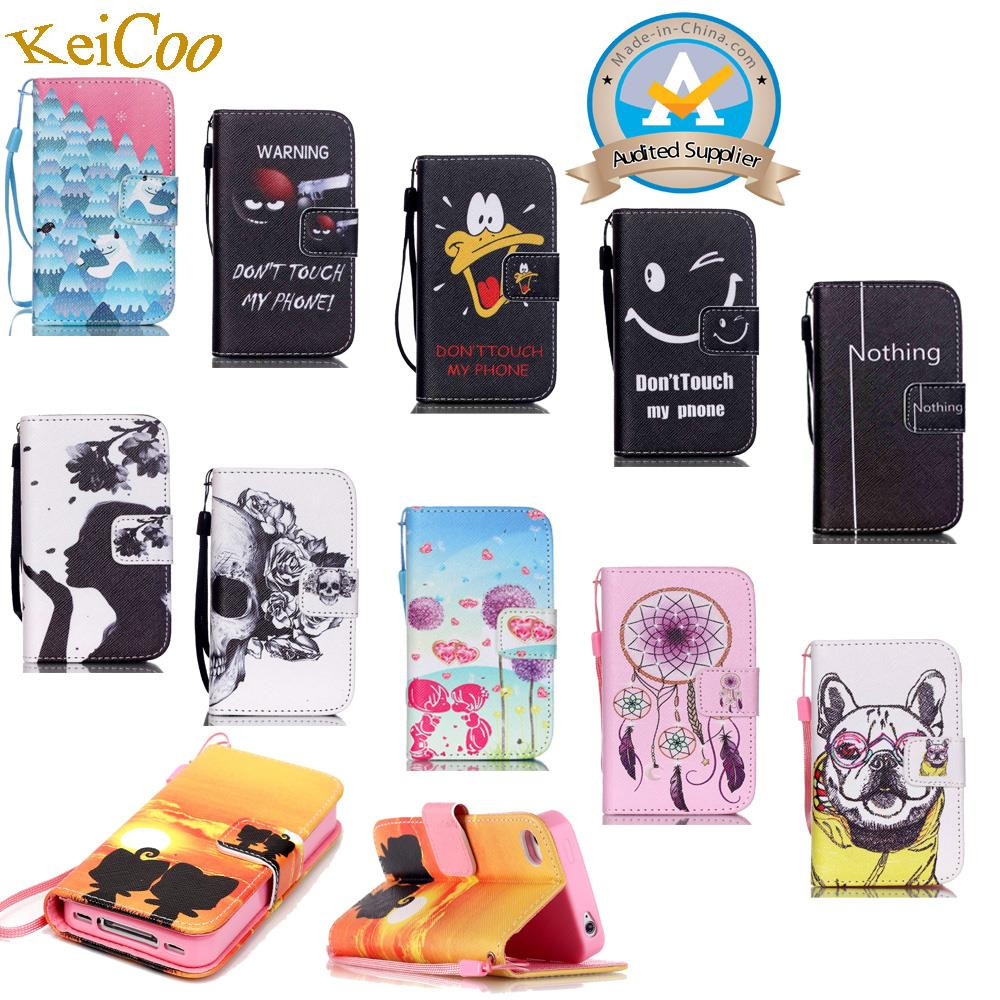 Phone Leather Cover Flip Case for Samsung Galaxy S5 SV S 5 Neo G903F G900F G900FD G900H  ...