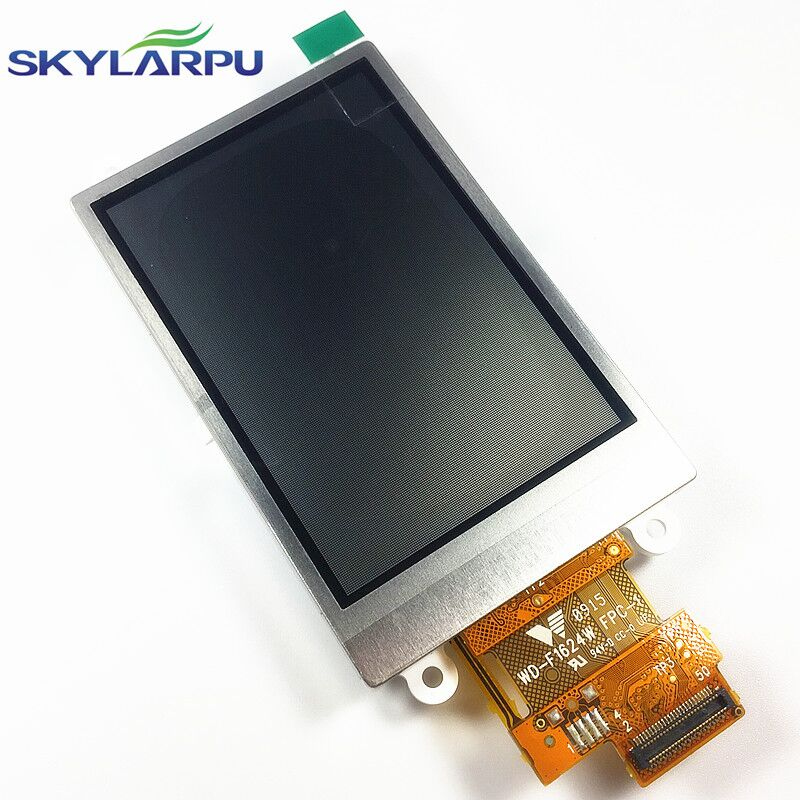 skylarpu 2.6 inch LCD Screen WD-F1624W-7FLWH for Garmin Dakota 20 GPS LCD display screen panel replacement (without touch) skylarpu 2 2 inch lcd screen module replacement for lq022b8ud05 lq022b8ud04 for garmin gps without touch