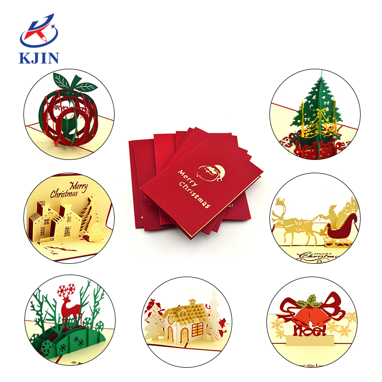 Wholesales Three-dimensional Paper Gift Card With Different Design Cheap Invitation Card Design