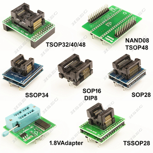 Image 3 - XGecu Original dernière version TL866ii plus programmeur + 23 adaptateur SOP8 IC Clipreplace MiniPro TL866CS TL866A programmeur universel