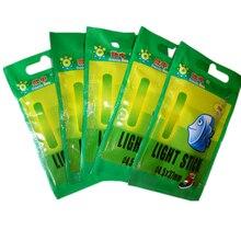 50pcs or 25pcs 4.5*37mm Night Fishing Luminous Float Fluorescent Light stick Rod Multi-Color LightsDark Glow Stick fishing tools