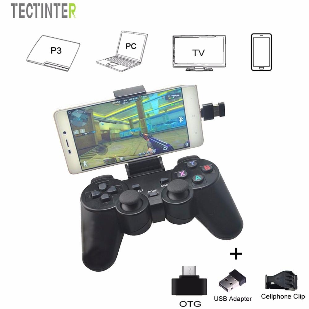 Android bezvadu gamepad Android tālrunim / PC / PS3 / TV kastei - Spēles un aksesuāri - Foto 6
