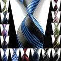 Stripe Mens Ties Moda Acessórios Dot Clássico Gravata De Seda No Pescoço do Homem de Negócios Formal Ocasional Malha Gravatas Laço Dos Homens de Malha