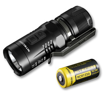 Продажа NITECORE EC11 900 люмен фонарик с 18350 аккумуляторная Батарея Водонепроницаемый спасения Открытый Поиск Отдых Бесплатная доставка