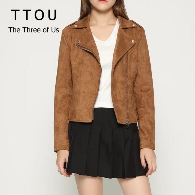 TTOU mode hiver manteau femmes veste à glissière femme Slim Outwear Parka Trench manteau Turn-down col veste