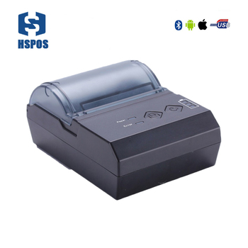 Hot Selling 58mm Portable Thermal Printer with Bluetooth with receipt printing for express printing