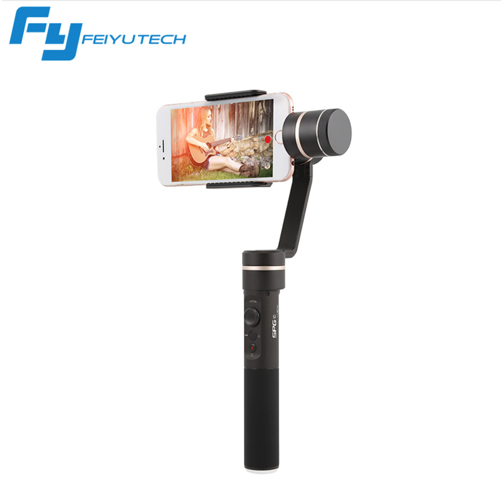Newe FeiyuTech FY SPG C 3-Axis Handheld Gimbal Stabilizer and remote for Smartphone iphone HUAWEI with New Zoom Button FY Gimbal decool technic city series 2 in 1 helicopter building blocks bricks model kids toys marvel compatible legoings