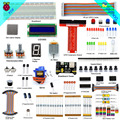 Adeept Super Starter Kit for Raspberry Pi 3 2 model B/ B+  Python  LCD1602 Servo  Book headphones diy diykit