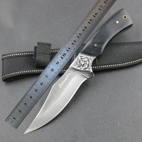 HOT Sale Survival Knife STRIDER Fixed 3CR13MOV Blade Knife Wood Handle Tactical Hunting Knifes Camping Knives