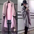 Fashion Winter Large scarf Women Cotton Blend Scarf Plaid Thick echarpe hiver femme Shawls and Women Scarves scarf 5