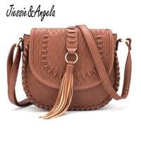 New Vintage Women Crossbody Bags PU Leather Messenger Bag Bolsa Feminina Purses And Handbags Ladys Shoulder