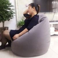 Bean Bag Sofa Cover For Livingroom Balcony Tatami Window Bean Bag Chair Sunroof Sofa Home Furniture Lazy Beanbag Beds For Adult