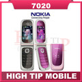 7020 Original Nokia 7020 Unlock Cell Phones Bluetooth FM JAVA Refurbished Free shipping