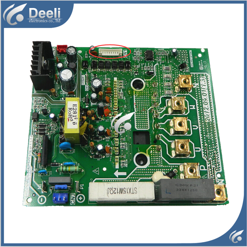 95% new good working for air conditioning board ME-POWER-50A(PS22A79).D.1.1.1.1 DC inverter module board good working for air conditioning board frequency module board me power 50a me power 50a ir341