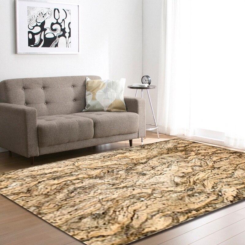 3D Rock Texture géométrique oie douce pierre tapis et tapis pour salon moderne zone tapis enfants tapis Burrito couverture