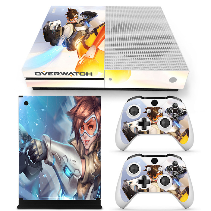 Game Accessories Skin Sticker Decal For Microsoft Xbox One S Console and 2 Controllers For Xbox One S Skins Stickers Vinyl