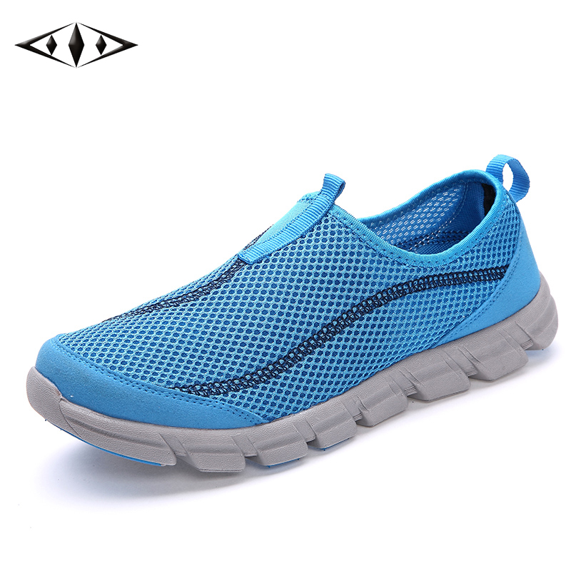 LEMAI 2016 New Arrival Athelitic Women Sneakers Summer Breathable Sport Super Light Running Shoes For Female 40-44 FB013-2