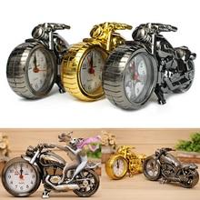 Креативные кварцевые часы в форме мотоцикла, будильник, Хранитель времени, настольный декор