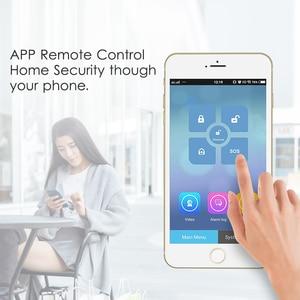 Image 3 - Marlboze WIFI GSM GPRS Alarm system APP Fernbedienung RFID karte Arm Entwaffnen mit farbe bildschirm SOS taste Sprachen umschaltbar