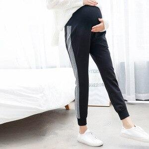 Image 2 - Hamile kadın pantolonları sonbahar yeni moda hamile kadınlar pantolon giymek pantolon rahat pantolon hamile kıyafetleri sonbahar giyim Maternit