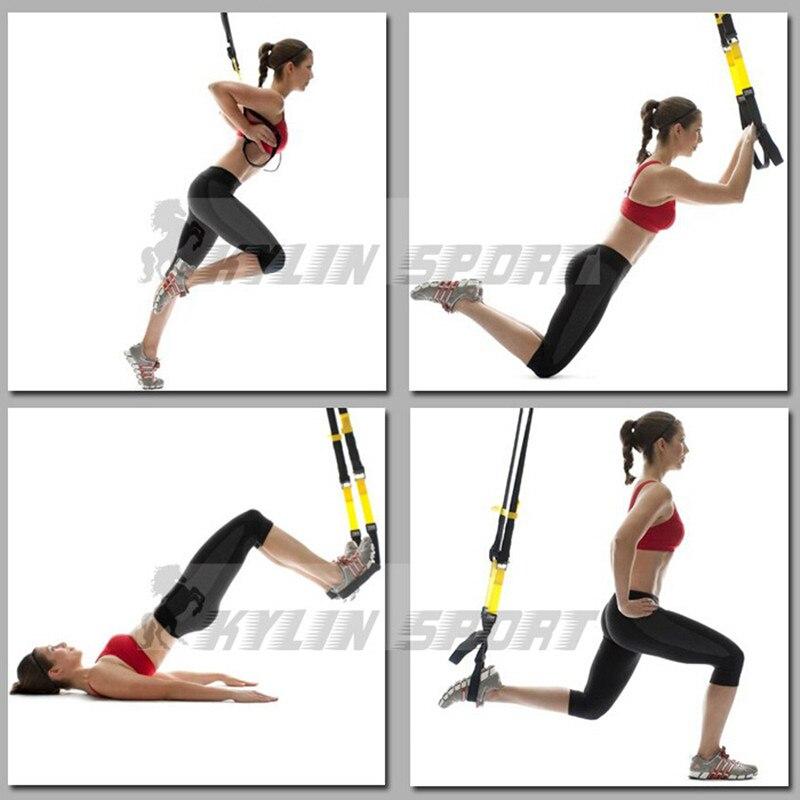 2018 TRip60X подвесной тренировочный ремень Эспандеры для профессионального фитнеса тянущаяся веревка анти сопротивление силовой тренировки мышц - 6