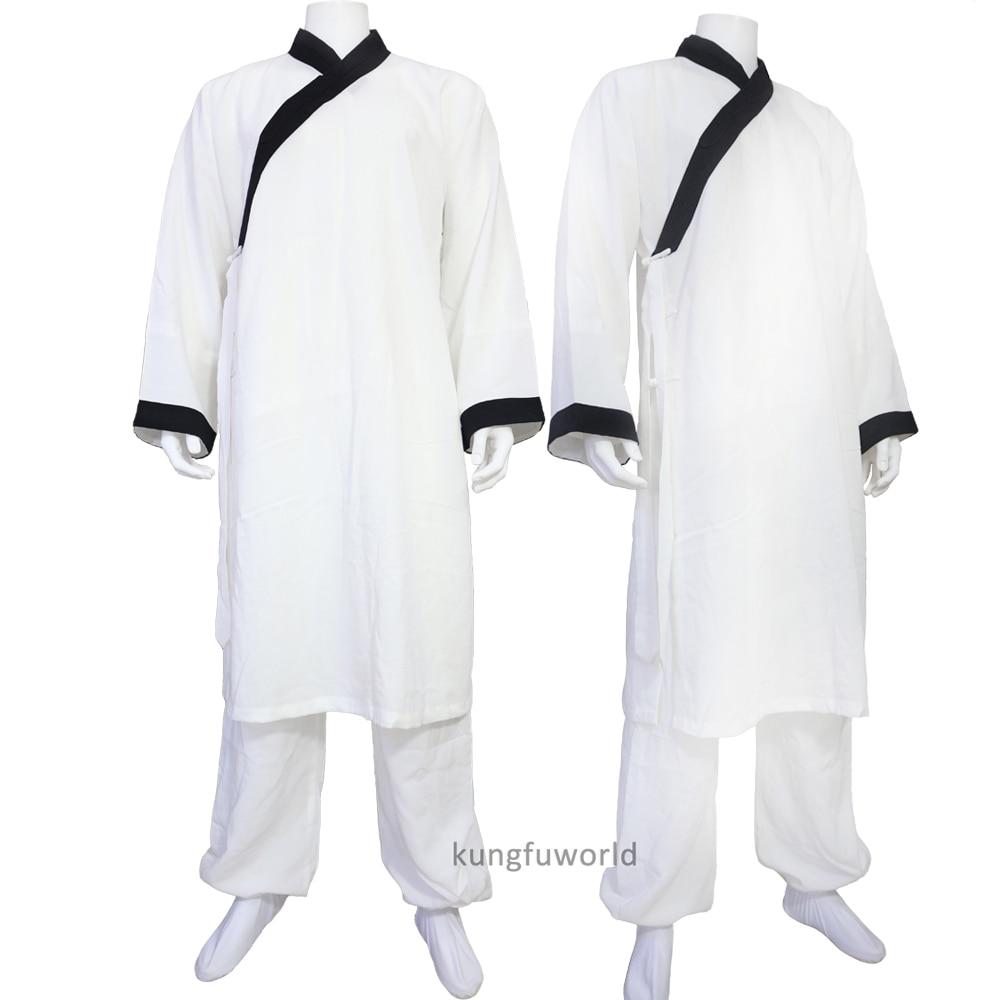 Изготовление на заказ традиционный монах даосский костюм кунг-фу тай-чи боевое искусство крыло Chun костюм Ушу 24 цвета
