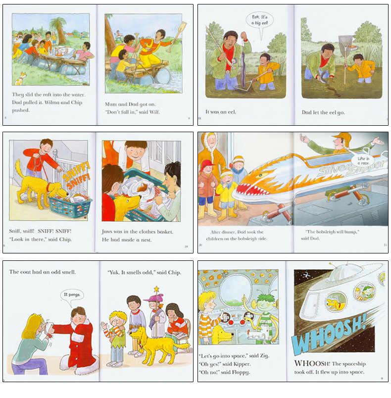 Árbol de lectura Oxford 1 juego 33 libros 1-3 nivel Biff,Chip & Kipper mano inglés fonics historia foto libro Niños libros educación