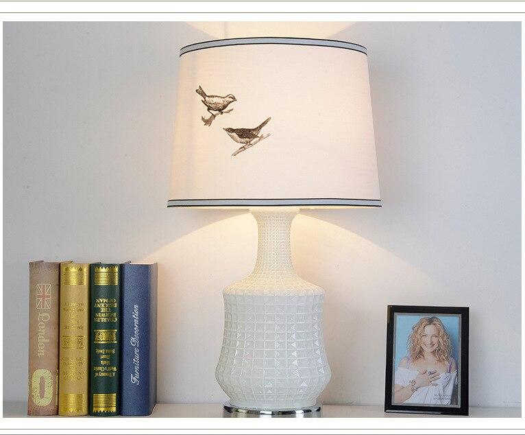 Туда 42X90 см Бесплатная доставка Современный Творческий Дизайн настольные лампы белого Стекло настольная лампа для гостиной Спальня исслед...
