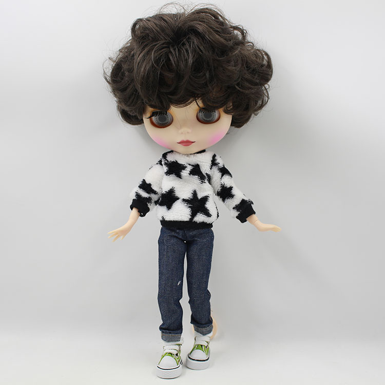 จัดส่งฟรี Blyth ตุ๊กตา Matt face (MATY32T)-ใน ตุ๊กตา จาก ของเล่นและงานอดิเรก บน   1