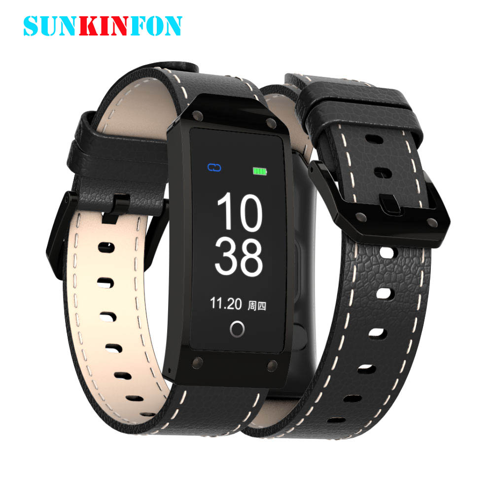 S6 Luxury Sport Smart Band Wrist Bracelet Blood Pressure Heart Rate Monitor IP67 Waterproof Bluetooth Smart Band for IOS Android
