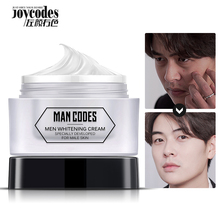 MENCODES 50ml Men Nicotinamide Whitening Face Cream Brighten Skin Tone Up Cream Moisturizing Concealer Whitening Creams
