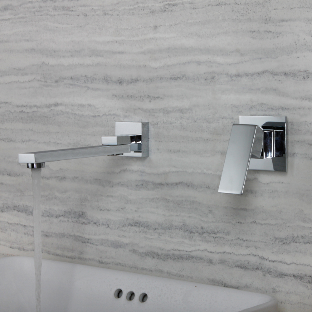 Wall Mounted Bathroom Faucet Mixer Basin Swing Spout Chorme Water Tap Torneira MonocomandoWall Mounted Bathroom Faucet Mixer Basin Swing Spout Chorme Water Tap Torneira Monocomando