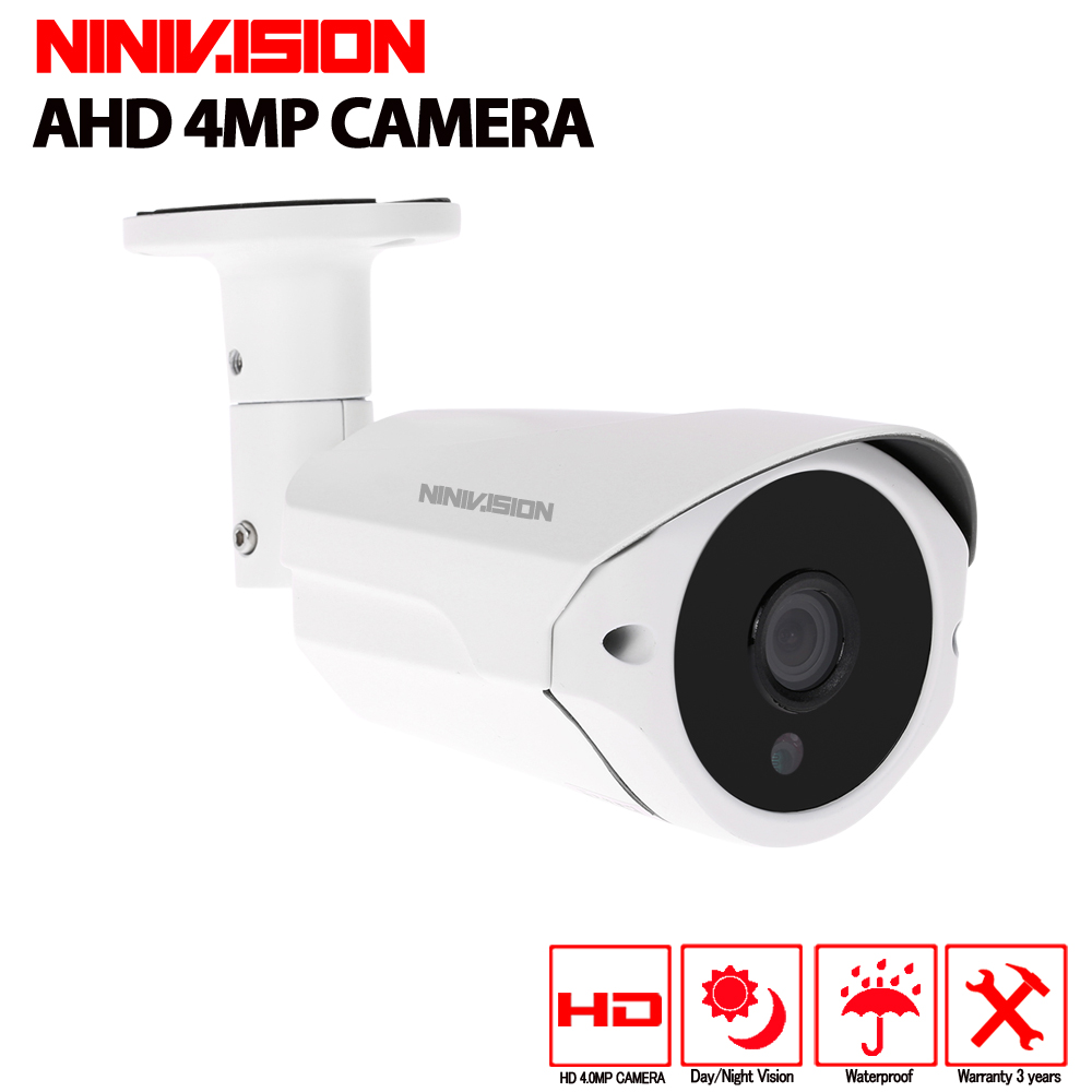 NINIVISION HD SONY 3MP 4MP AHD Camera Security Surveillance indorr outdoor Camera Waterproof CCTV Camera 40M Day Night vision