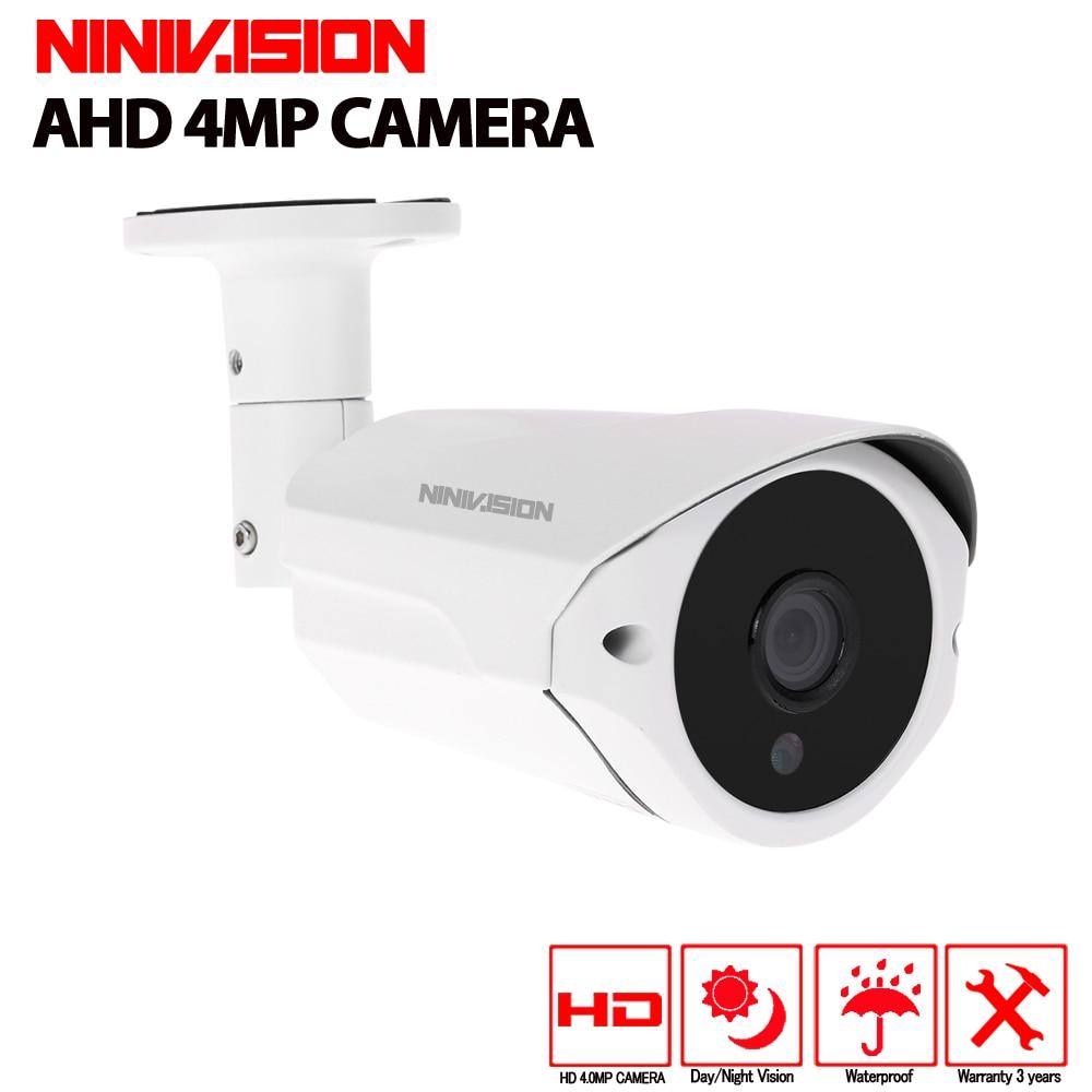 NINIVISION HD SONY 3MP 4MP AHD Camera Security Surveillance indorr outdoor Camera Waterproof CCTV Camera 40M Day Night vision