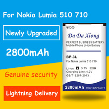 3419261849a da da xiong Newly Upgraded Safe Durable 2800mAh BP3L BP-3L Battery for  Nokia Lumia