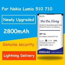 1c8ab40db26 da da xiong Newly Upgraded Safe Durable 2800mAh BP3L BP-3L Battery for  Nokia Lumia