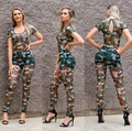 Bodycon Womens Rompers Jumpsuit 2016 Fashion Sexy Mesh Camouflage One Piece Mono Long Pant Jumpsuit Overalls for Women -30