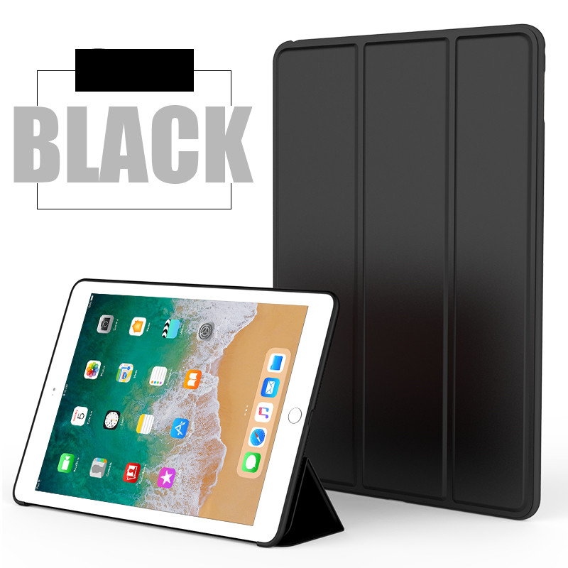 Black Monochrome smart case with silicone back for Apple iPad Pro 10.5